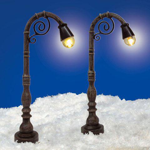 Weihnachtsdeko Straßenbeleuchtung.Miniaturlaternen Oslo Led Straßenbeleuchtung