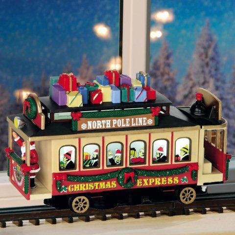 Elektrische stra enbahn weihnachtsdeko christmas express for Nostalgische weihnachtsdeko
