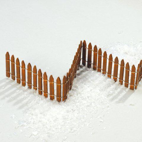 Lichterstadt miniaturfiguren zubeh r flexibler holz zaun - Flexibler gartenzaun ...