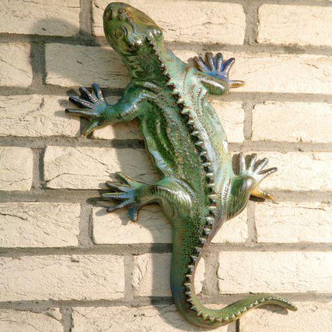 Captivating Dekofigur U201eSalamanderu201d, Wanddeko Tierfigur Aus Keramik