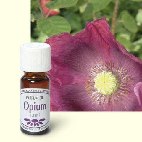 wie riecht opium