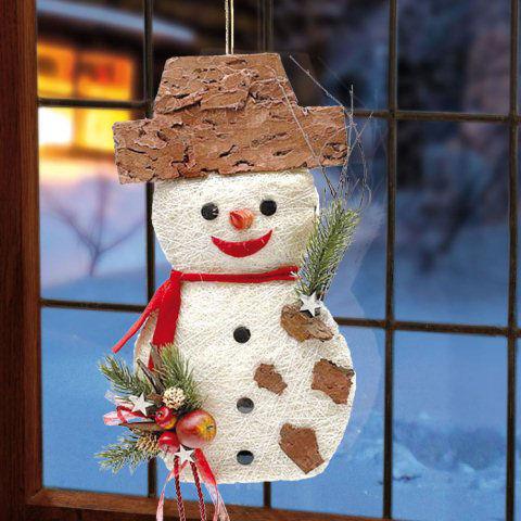 T rh nger schneemann weihnachtsdeko aus naturmaterialien - Weihnachtsdeko aus naturmaterialien ...