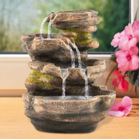 zimmerbrunnen cascade dekobrunnen zur luftbefeuchtung. Black Bedroom Furniture Sets. Home Design Ideas