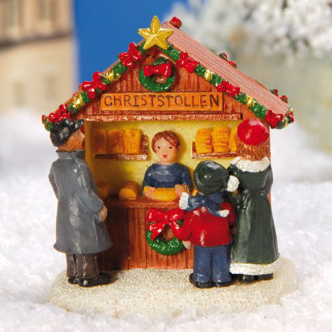 lichth user miniatur figuren marktstand christstollen. Black Bedroom Furniture Sets. Home Design Ideas