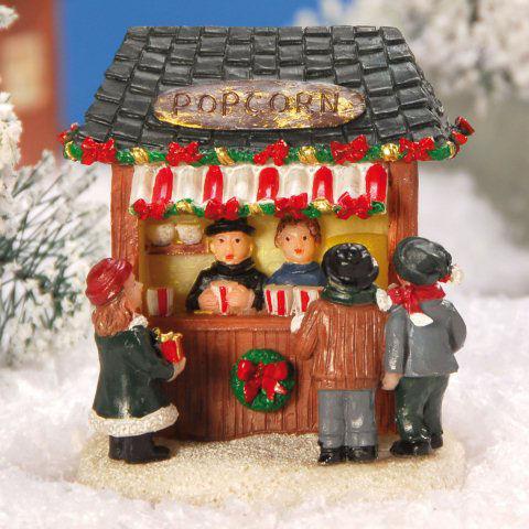 Weihnachtsdeko Kataloge Anfordern.Lichthäuser Weihnachtsdeko Marktstand Popcorn