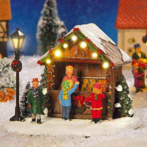 Weihnachtsdeko Kataloge Anfordern.Lichthäuser Weihnachtsdeko Led Marktstand Bäckerei