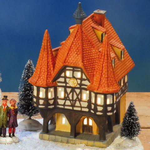 keramik lichthaus weihnachtsdeko rathaus michelstadt. Black Bedroom Furniture Sets. Home Design Ideas