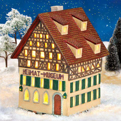 keramik lichthaus weihnachtsdeko heimatmuseum. Black Bedroom Furniture Sets. Home Design Ideas