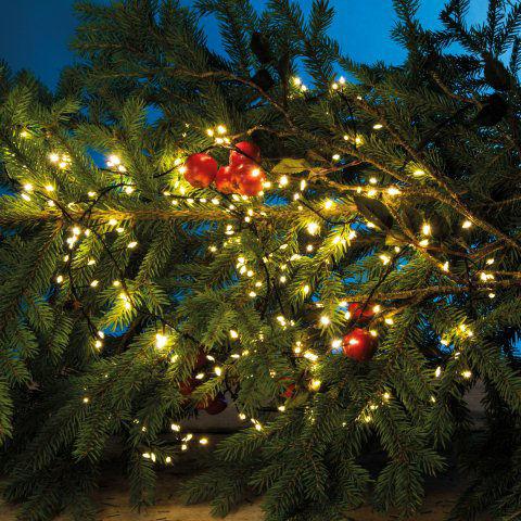 Weihnachtsdeko mit led lichtern