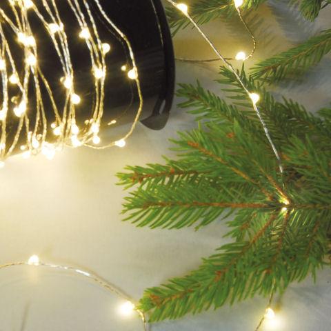 Weihnachtsdeko Lichter Innen.Led Lichterkette Weihnachtsdeko 80 125 240 Lichter