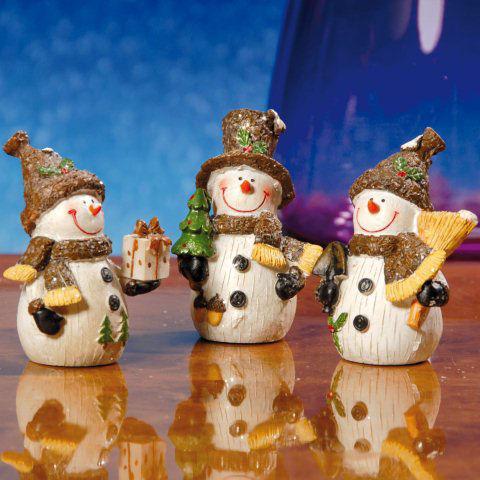 """Weihnachtsfiguren """"Schneemänner"""" zur Weihnachtsdekoration"""