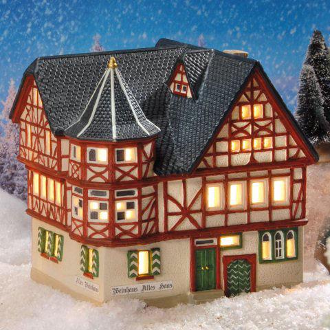 historisches keramik fachwerk lichthaus altes weinhaus bacharach. Black Bedroom Furniture Sets. Home Design Ideas