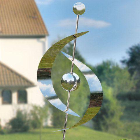 Gartenskulptur aus edelstahl zur gartendekoration for Edelstahl gartendekoration