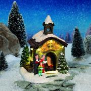 """Lichthäuser Weihnachtsdeko """"Bergkapelle"""" mit Beleuchtung"""