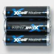 Batterien, 3er-Set, AAA 1,5 V, Power Alkaline