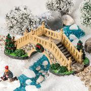 """Lichthäuser Miniatur Weihnachtsdeko """"Säulenbrücke im Park"""""""