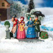 "Lichthäuser Miniaturfiguren ""Winterausflug"""