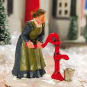 "Lichthäuser Miniaturfigur ""Frau an der Wasserpumpe"""