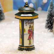 """Lichthäuser Miniatur Weihnachtsdeko """"Litfasssäule"""""""