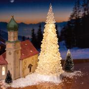 LED Kristall-Baum XXL, Weihnachtsdeko mit wechselnden Farben