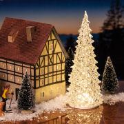LED Kristall-Baum, Weihnachtsdeko mit wechselnden Farben