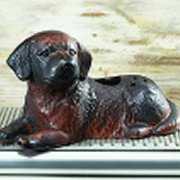 Wasserverdunster Luftbefeuchter, Hund für den Kaminofen