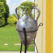 Amphorenvase aus Keramik, Dekovase für Zimmerpflanzen