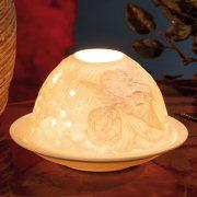 """Dome Light Porzellan-Windlicht """"Schutzengel"""""""