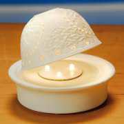 LED-Untersetzer für Dome Light Porzellan-Windlichter