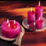 Ersatzkerzen für Deko Kerzenteller