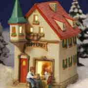 """Keramik Lichthaus Weihnachtsdeko """"Töpferei"""""""