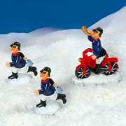 """Lichthäuser Miniaturfiguren """"Feuerwehr im Einsatz"""""""