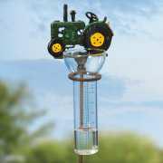 """Regenmesser """"Traktor"""", Messgerät für Niederschlag"""