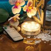 Tischlampe mit Fernbedienung, Tischbeleuchtung mit Maxi LED