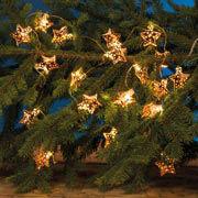 """LED Lichterkette """"Kupferstern"""", Weihnachtsdeko"""