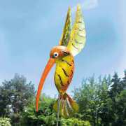 "Gartenstecker ""Kolibri"", wetterfeste Gartendeko"