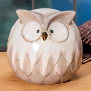 """Dekofigur """"Eule"""", Tischdekoration aus Keramik"""