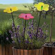 Sonnenfänger Gartenstecker, fluoreszierende Gartendeko