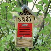 Insektenhotel Nisthilfe, Nistkasten aus Holz