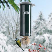 Futterstation Vögel, Vogelfutterspender aus Metall