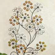 "Wandobjekt ""Blumen"", Wandrelief zur Wanddekoration"