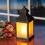 Laterne mit Flackerlicht zur Weihnachtsbeleuchtung