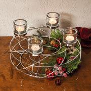 strahlende stimmung mit kerzen teelichthaltern co. Black Bedroom Furniture Sets. Home Design Ideas
