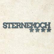 """3D Deko-Holzschriftzug """"Sternekoch"""""""
