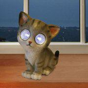 "LED-Solarkatze ""Sofie"", Tierfigur zur Gartendekoration"