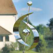 Gartenskulptur aus Edelstahl zur Gartendekoration