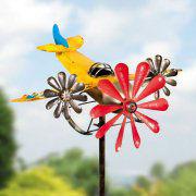 """Windspiel """"Flugzeug"""", Gartenstecker zur Gartendekoration"""