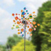 """Windspiel """"Konfetti"""", Beetstecker zur Gartendekoration"""