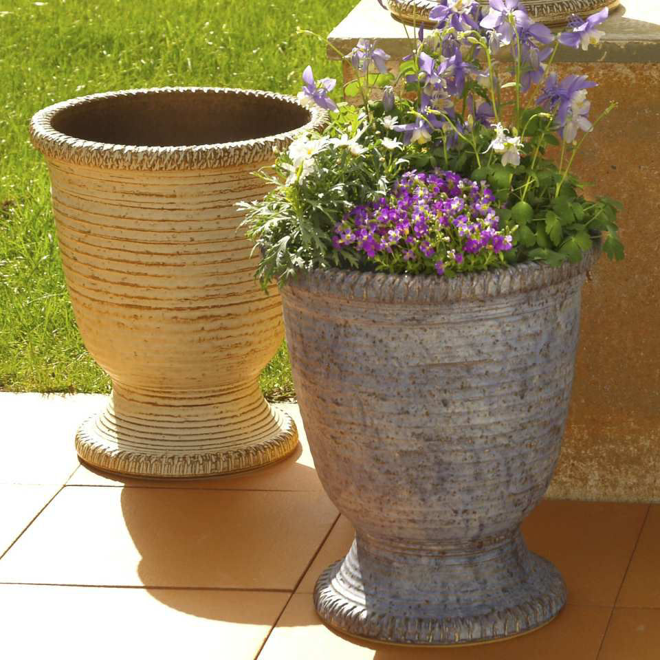 pflanzk bel toskana keramik blumenk bel ohne henkel. Black Bedroom Furniture Sets. Home Design Ideas
