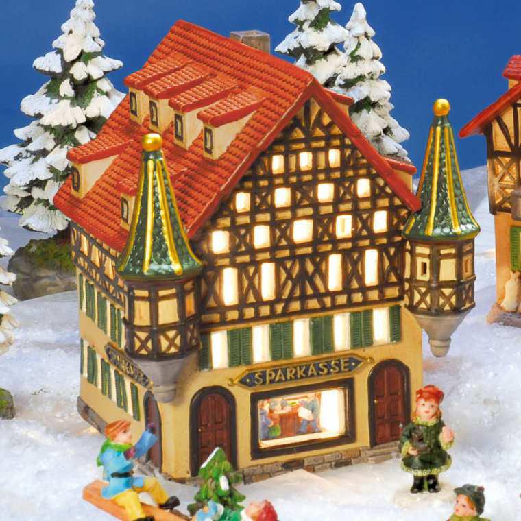 Miniatur Weihnachtsdorf Online Kaufen Topferei Langerwehe